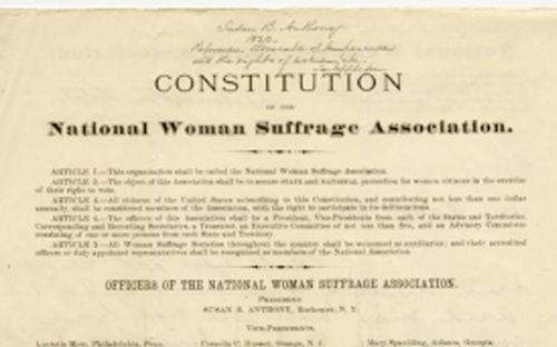 History Of U S Woman Suffrage Persuasive Essay