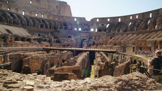 Rome, Inside the Colosseum