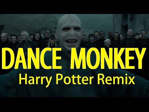 Harry Potter Sings Dance Monkey Remix Youtube In 2021 Harry Potter Song Harry Harry Potter