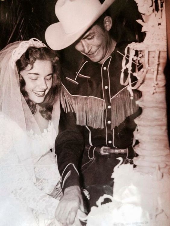 hank williams sr and 2nd wife billie jean horton wed