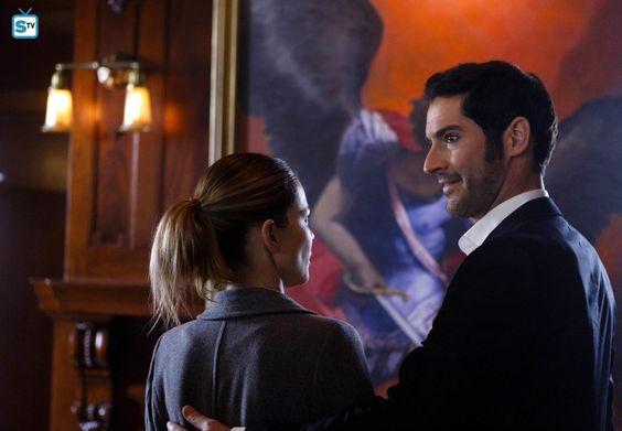 Chloe and Lucifer