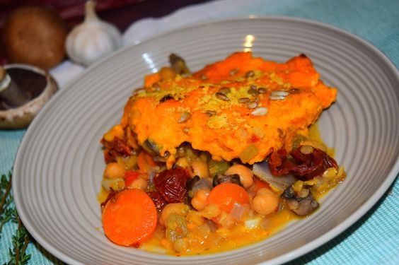 Healthy and delicious vegan shepherd pie from MyNutriCounter