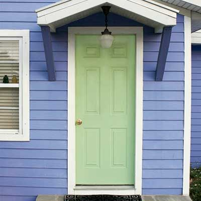 Personalize your front door with paint colors paint Benjamin moore country green