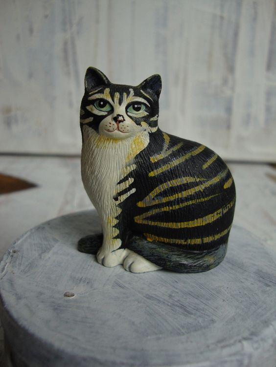 """Weiteres - Sammel-Katze"""" Mona"""" von Martin Leman,... - ein Designerstück von marpe18 bei DaWanda"""