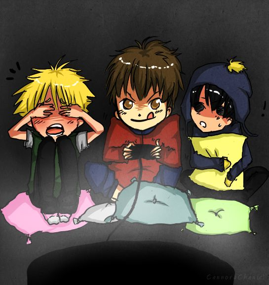South Park Game Night With Tweek,Clyde,Craig