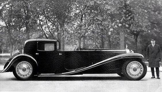 Bugatti Type 41 Royale, sólo se construyeron 6 en todo el mundo. 1932