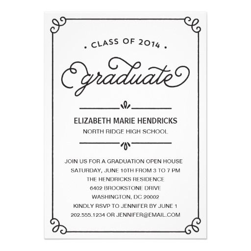 Calligraphy Frame Graduation Party Invitation In our offer link above you will seeThis Deals          Calligraphy Frame Graduation Party Invitation Review from Associated Store with this Deal...
