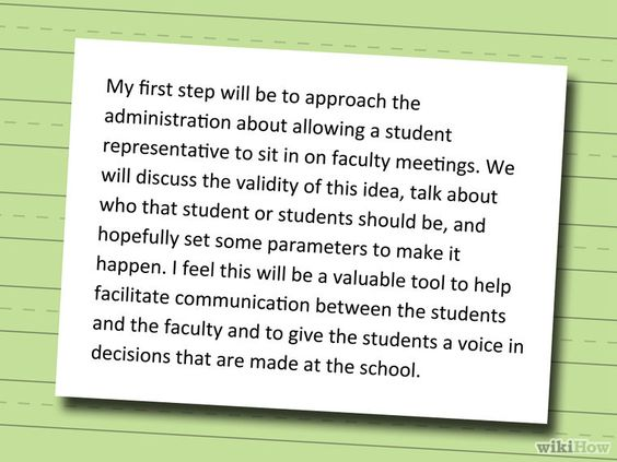 Write a Speech for School Elections School and Students - campaign speech example template