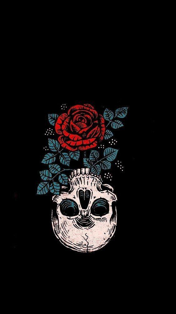 Pin By Pam Montlack On Skullduggery In 2020 Halloween Wallpaper Iphone Gothic Wallpaper Skull Wallpaper