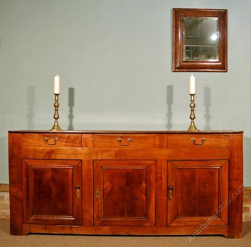 Wonderful French Fruitwood Narrow Sideboard C.1840   Antiques Atlas. Narrow  SideboardAntique Furniture