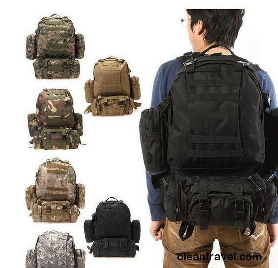 Multi Color Military Tactical Molle Assault Travel Backpack Sport Hiking Bag - http://oleantravel.com/multi-color-military-tactical-molle-assault-travel-backpack-sport-hiking-bag