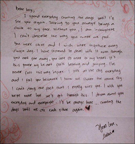 Love Letters For Him Romantic Love Letters