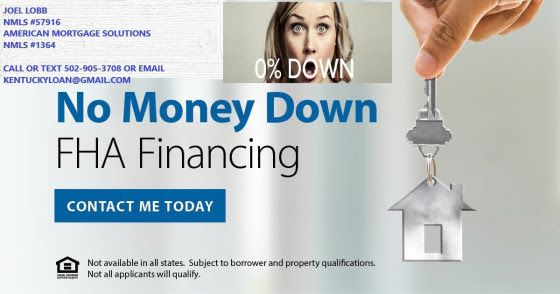 Zero Down Mortgage Loans Via Fha And Khc With 6000 Down Payment
