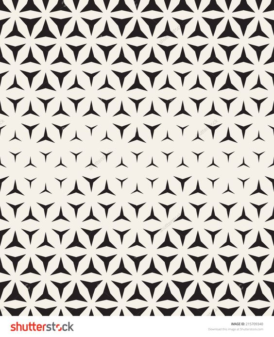 Vector seamless pattern. Modern stylish texture. Repeating geometric tiles: