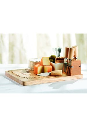 STOKES 10-Piece Camembert Cheese Cutting Board Set 26.99