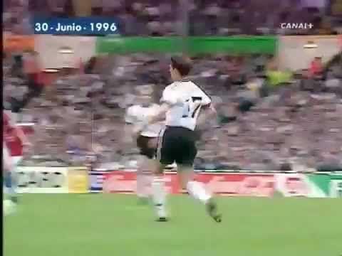 EM 1996 - Vorrunde: Deutschland-Tschechei 2.1-Video