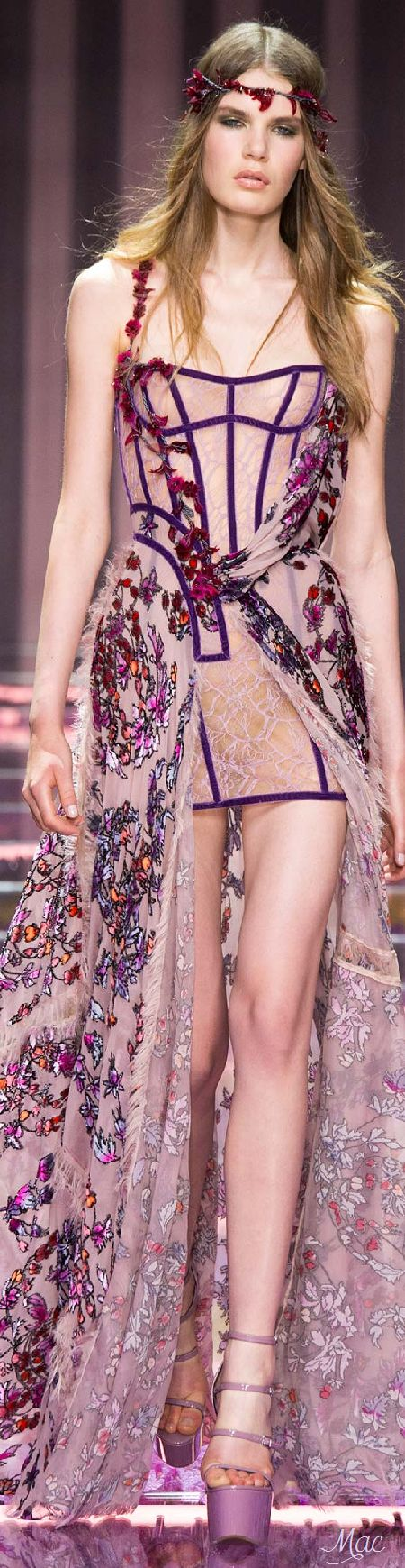 Fall 2015 Couture Atelier Versace: