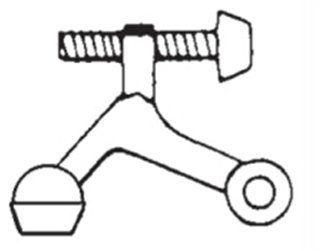EZ-Set 402310 Hinge Pin Door Stop Oil Rubbed Bronze Door Stop Hinge Pin Stop