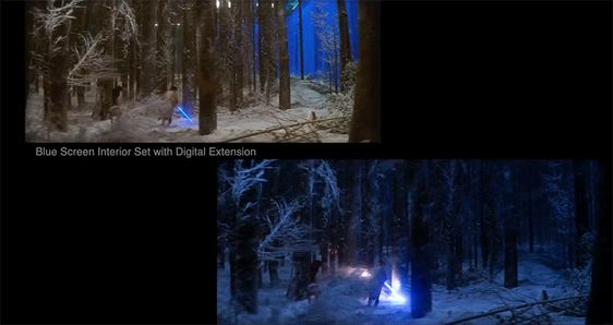'STAR WARS THE FORCE AWAKENS' Before and After VFX Reel is Incredible