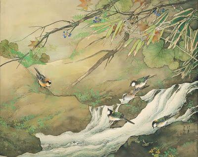 Mountain stream, Matsubayashi Keigetsu, 1940