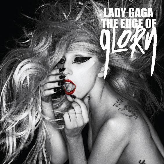 Lady Gaga – The Edge of Glory (single cover art)