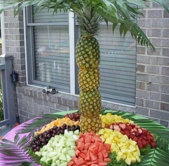 Pineapple fruit tree