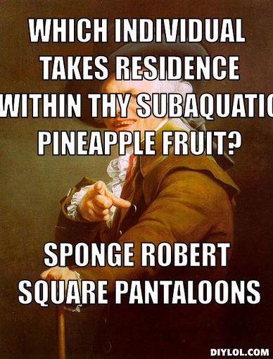 Sir Joseph Ducreux humor :)