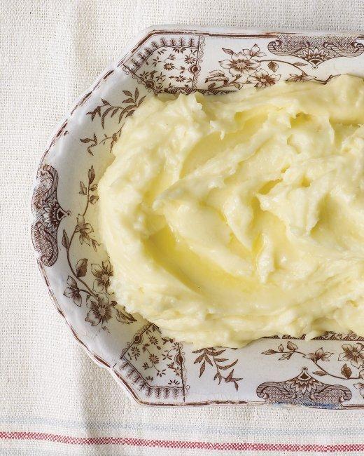 Luxurious Mashed Potatoes Recipe