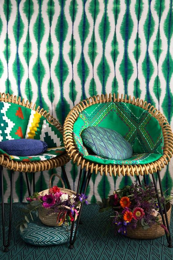 Funky Furniture Bold Colors
