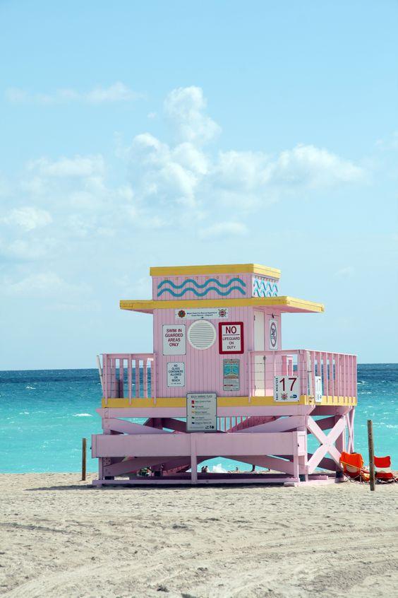 Miami Beach, Florida colors