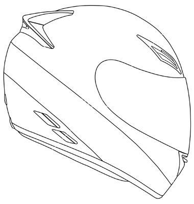 Racing Helmets Racing Helmets Vector