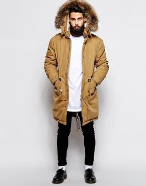 The parka jacket is an iconic must-have outerwear piece. Gray