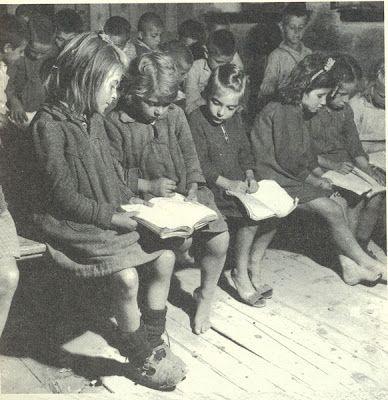 ΟΡΕΙΝΗ ΗΛΕΙΑ: Φωτογραφίες από το ελληνικό σχολείο παλιότερων χρόνων