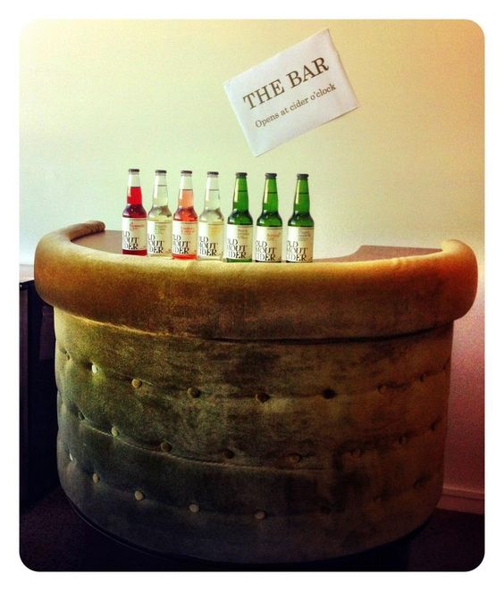 Our new Auckland office bar....