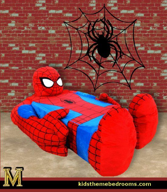 Decorating Theme Bedrooms Maries Manor: Superheroes Bedroom Ideas Batman  Spiderman Superman