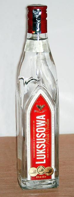 #Vodka a popular polish drink
