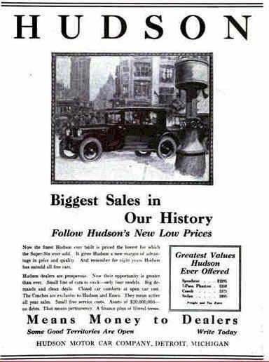 1923 Hudson