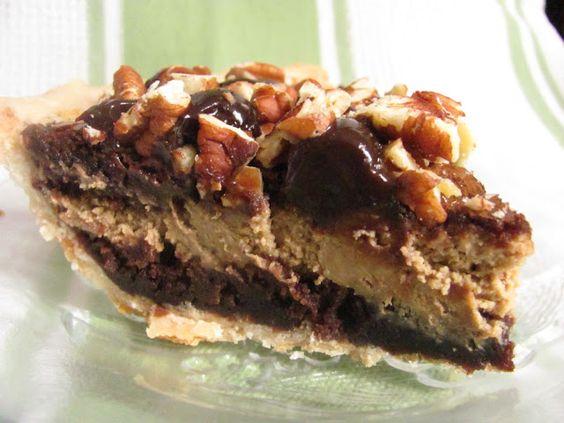 Java Cheesecake Brownie Pie