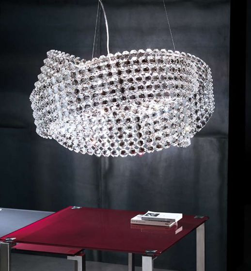 Diamante 65 By Marchetti $3000 Light Which U0027floatsu0027 And Creates Gasps Of  Delight.