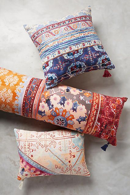 Trendy Colorful Pillows