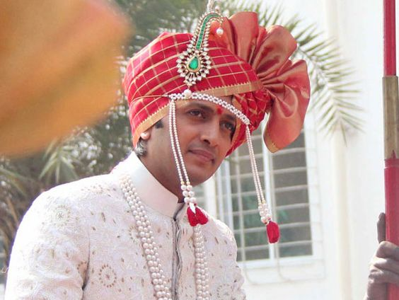 Riteish and Genelia's Maharashtrian wedding
