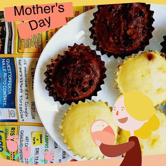 お母さんいつもありがとう(♡ꉺ.̫ꉺ) - 29件のもぐもぐ - 黒糖蒸しパンとチョコ蒸しパン♡ by thikothikotakku