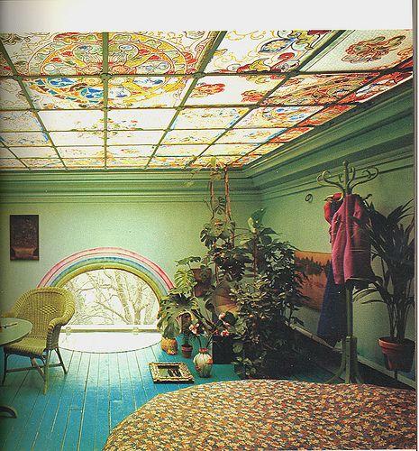 rainbow window designer loft from Living For Today by Karen Fisher, 1972