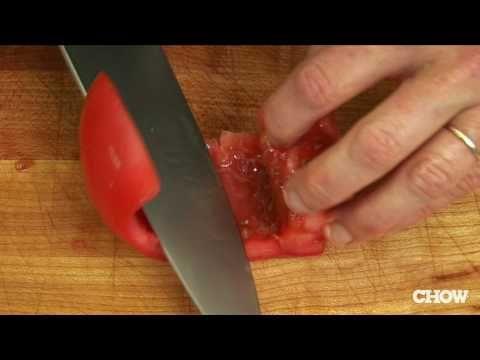 Cómo cortar el tomate