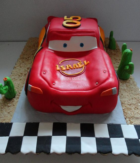 Bolos decorados Cars