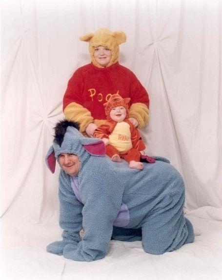 Disfraz familia