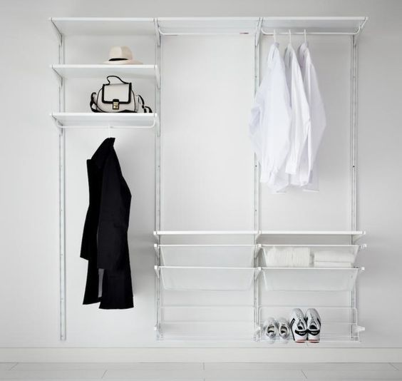5 favorites closet storage systems wardrobe systems. Black Bedroom Furniture Sets. Home Design Ideas