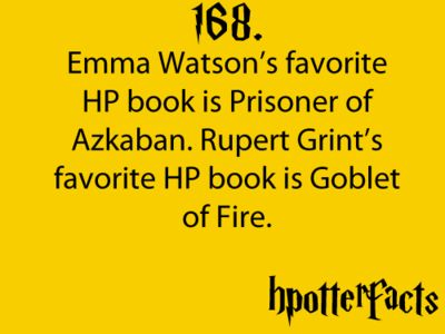 Harry Potter facts 168