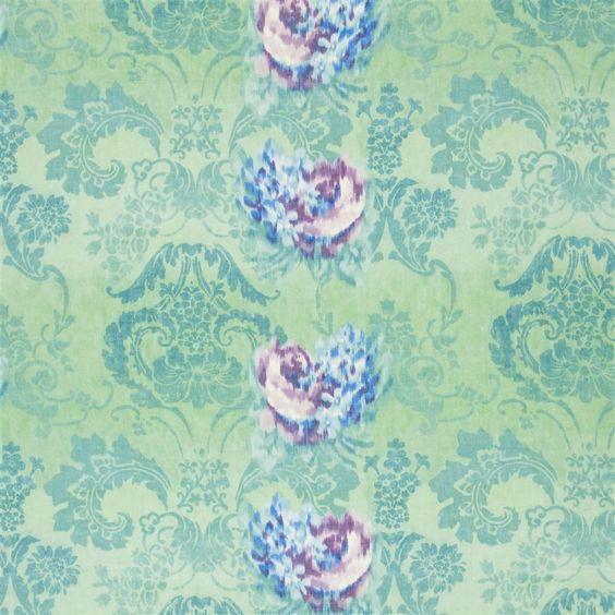 fergana - jade stoff | Designers Guild
