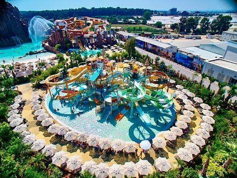 Rixos World The Land Of Legends Theme Park Antalya Turkey Youtube Antalya Water Park Cool Places To Visit